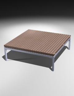 Square Coffee Table 300H 方形茶几