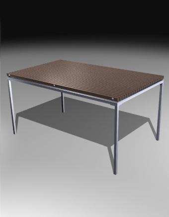 Rect. Dining Table 760H 長方形餐檯