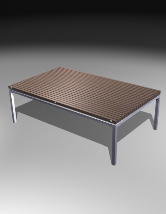 Rect. Coffee Table 480H 長方形茶几